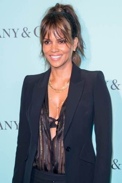 Halle Berry's open blouse|Lainey Gossip Lifestyle