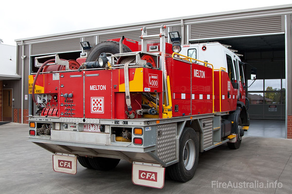 CFA Melton Tanker. December 2008
