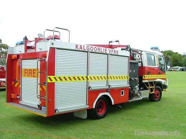 Kalgoorlie FRS Country PumperKalgoorlie FRS Country Pumper on display at Easter Championships 2005