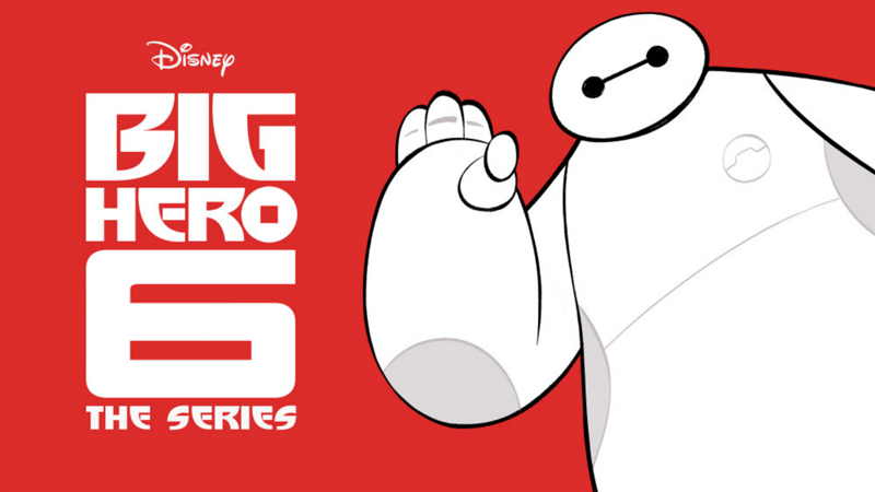 BIG HERO 6 THE SERIES offers really little teaser