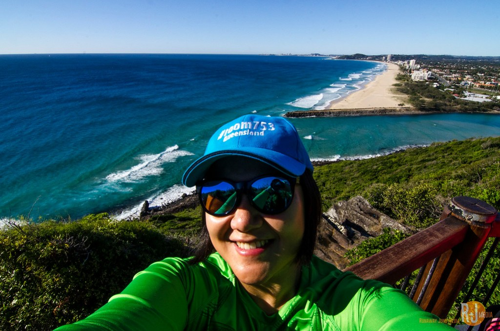 Hiking in the Burleigh Head National Park