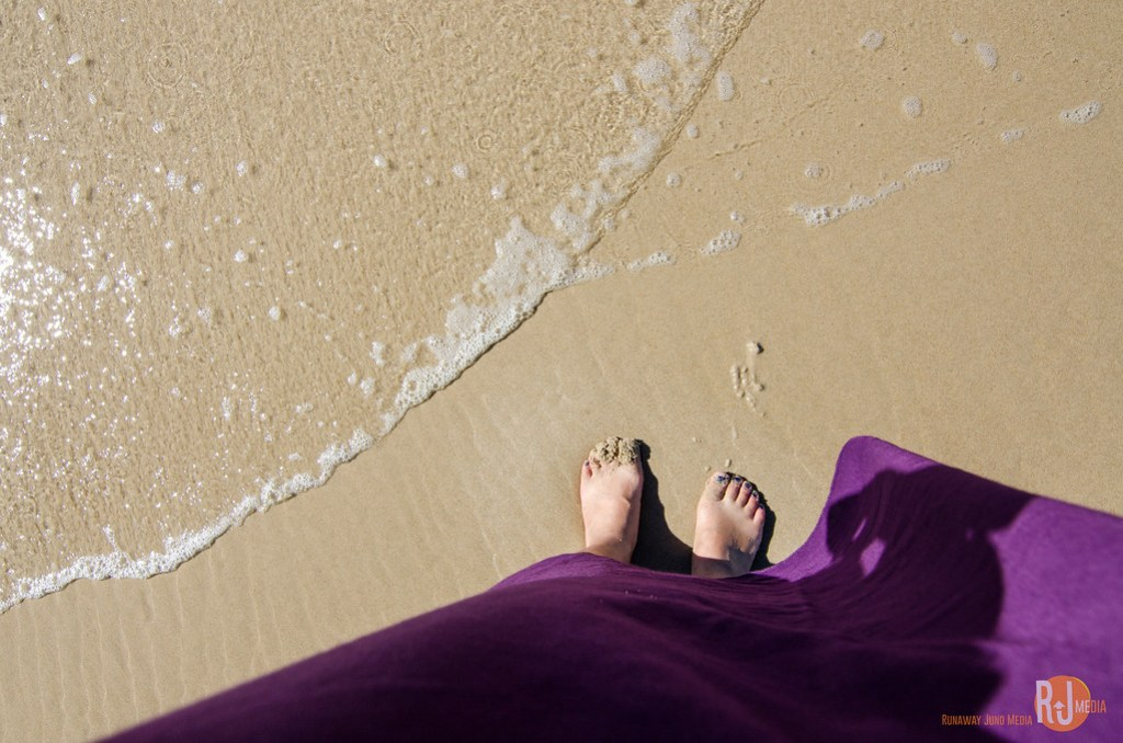 The long soft sandy beach is what makes Gold Coast so amazing