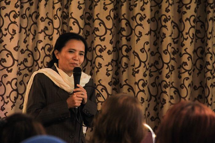 AWE '13 Keynote speaker Lek, of Save Elephant Foundation
