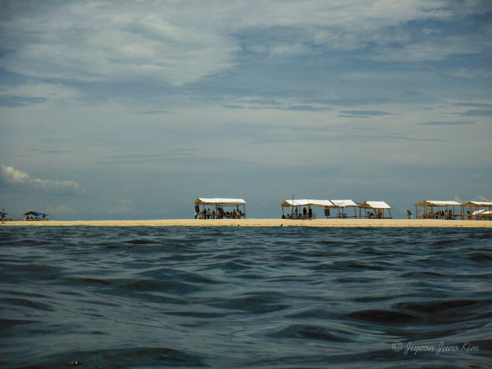 Carbin Reef - sand bar