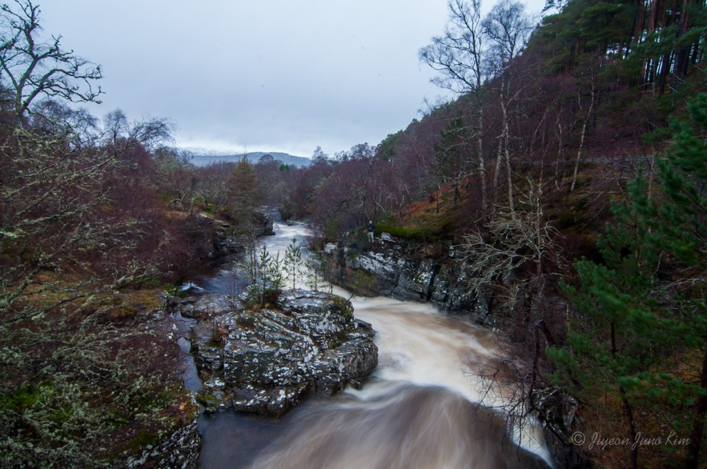 Small creek in the Scottish Highlands