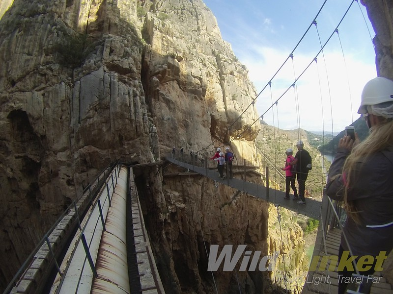 caminito del rey guide - best hike in spain