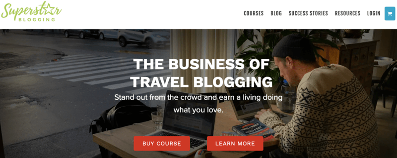 how to become a travel blogger - travel blogging course