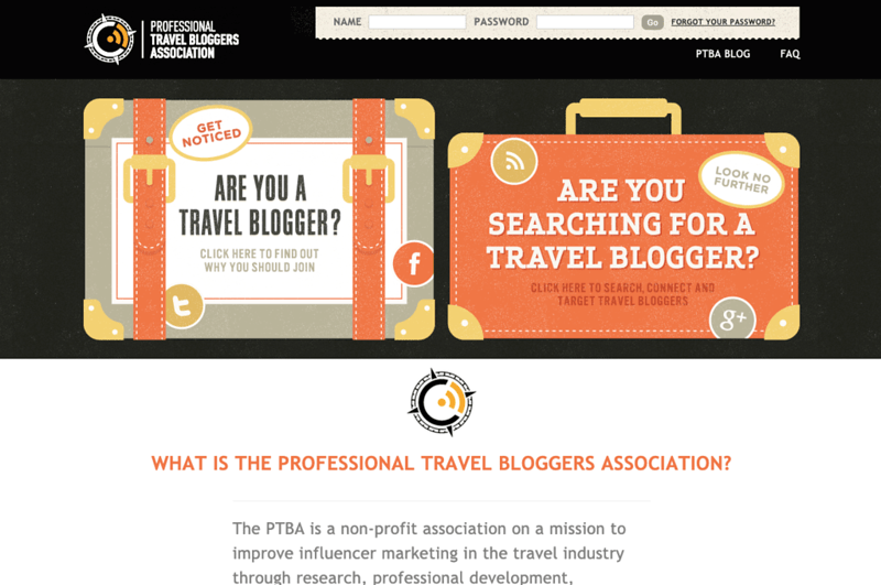 how to become a travel blogger - PTBA