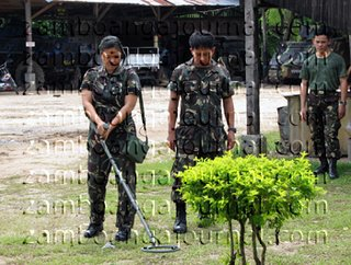 army holds bomb detection training in mindanao