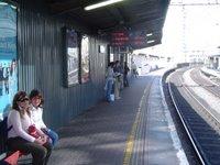 DSC03432 El tren de cercanías de Dublin: DART