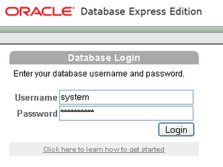 ora1 Oracle XE for network access