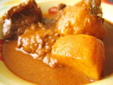 Dad's Beef Curry