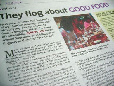 Food Blogging Article