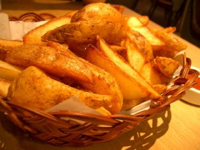 Chunky Potato Wedges