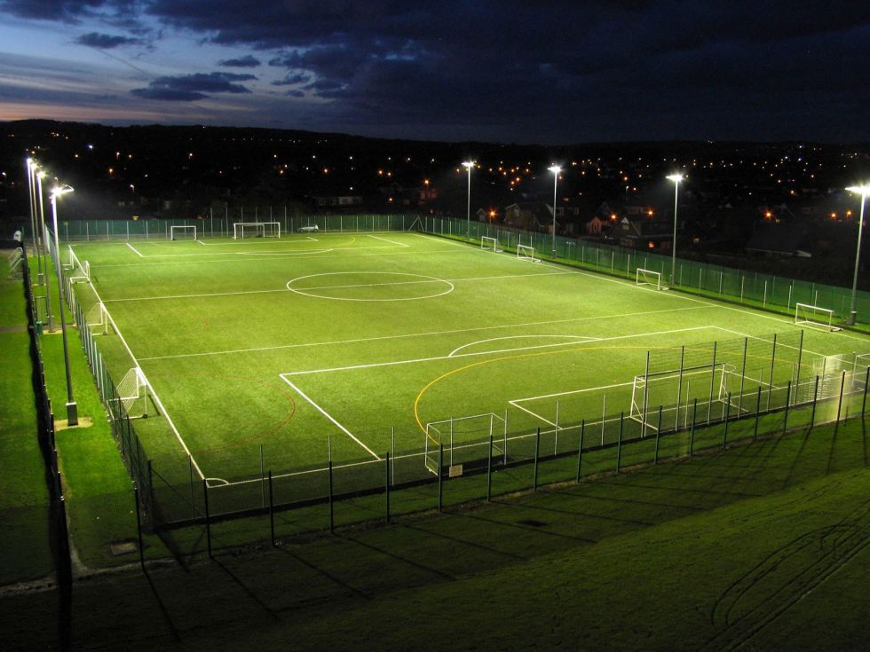 Mile end football pitch