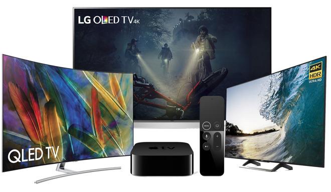 HDR TVs For Apple TV 4K