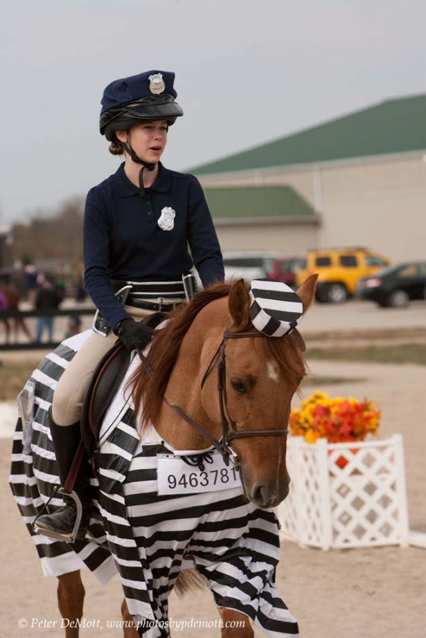 RR3D8731 Costume dressage horse show at Dancing Horse Farm in Lebanon Ohio   perfect for October