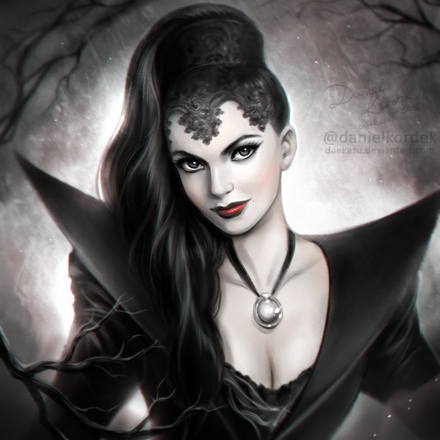 once_upon_a_time__evil_queen_by_daekazu
