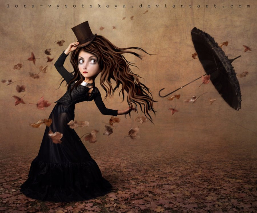 The runaway umbrella