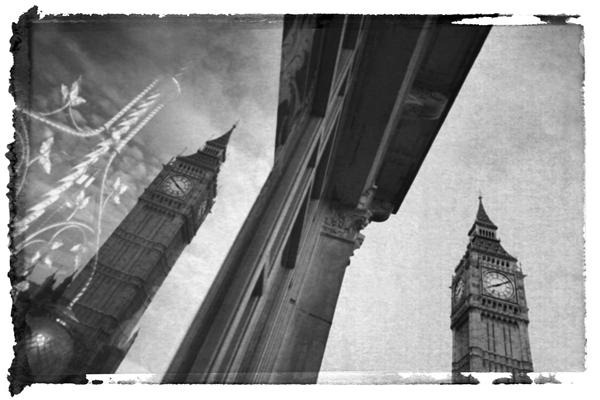 Big Ben and Reflection in Window