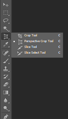 Photoshop CS6 Crop tools