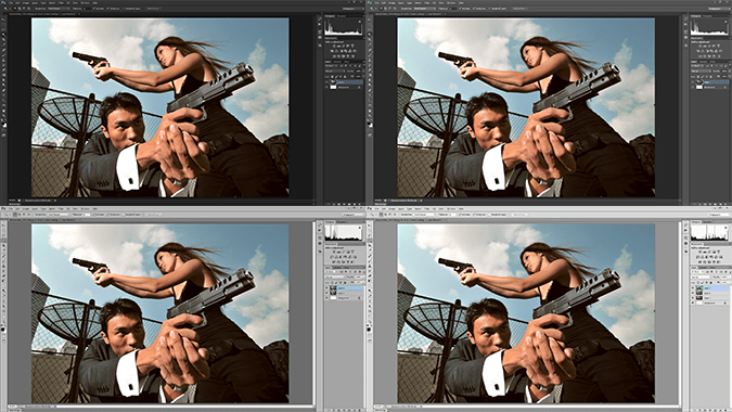 Photoshop Color Themes