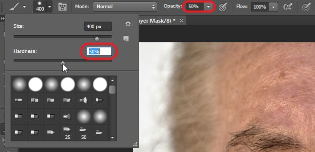 درس مميز جدا How to Retouch and Airbrush Skin in Photoshop
