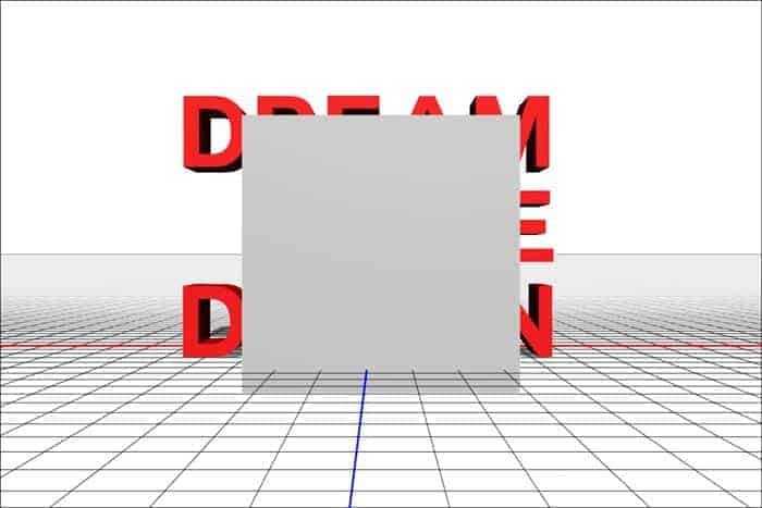3D Text with Crystal