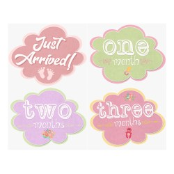 Smart Cut Out Each Cloud Sticker Adhere To Your Onsie Ir Baby Month Stickers Girls Cloud Studios Free Baby Month Stickers Baby Month Stickers Free Download inspiration Baby Month Stickers