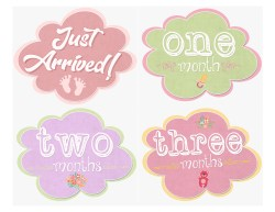 Small Of Baby Month Stickers