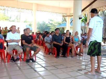 Welcoming speech by Mr. Robert Lorhmann,  Chairman of Mai Khao Marine Turtle Foundation