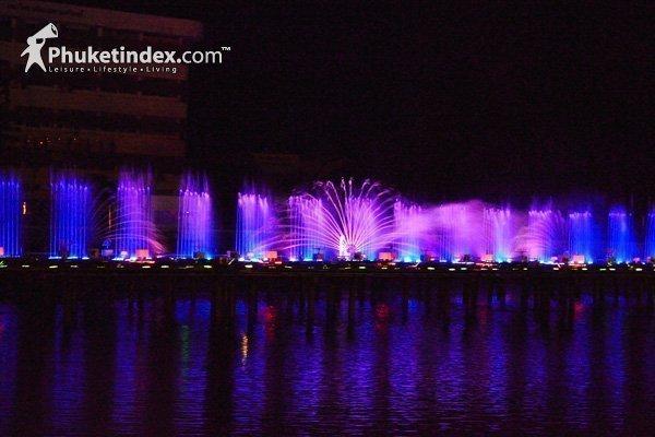 Phuket Music Fountain