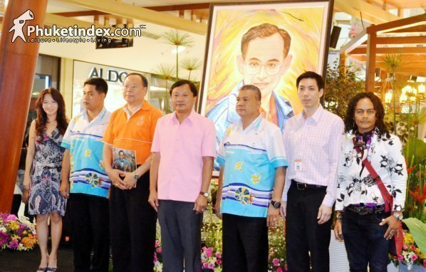 """Central Festival Phuket held """"84 Arts Exhibition"""" in celebration of King's 84th Birthday"""