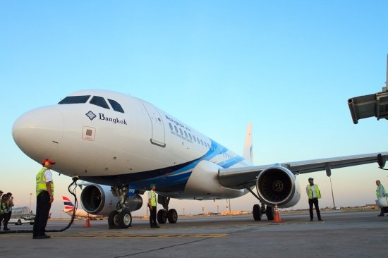 Bangkok Airways welcomes a new Airbus 319