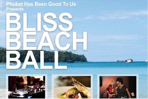 Bliss Beach Ball Raises More than 860,000 Baht for Phuket Charity