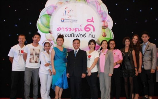 Jennifer Kim joins Bangkok Hospital Phuket health fair