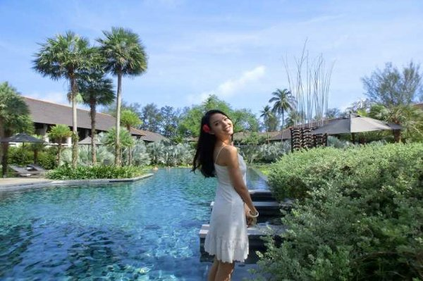 Phuket's Indigo Pearl welcomed Miss World 2007 to new private pool villas