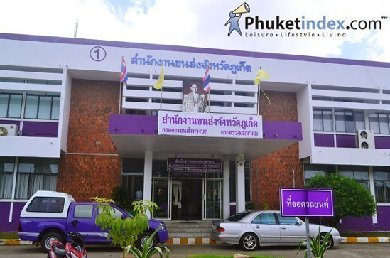 Phuket launch Road Safety Fund payment project