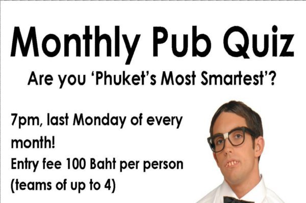 Phuket Quiz Champs call all challengers!
