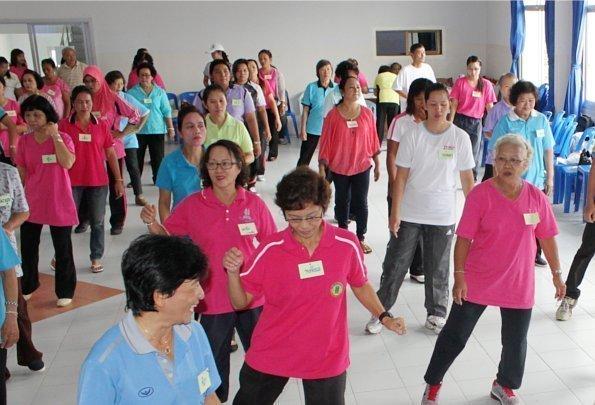 """Phuket launches """"One tambol - One Aerobic 2012"""""""