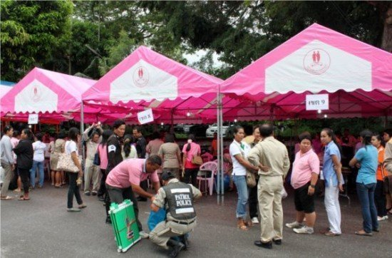 Phuket elections see less than 50% voters