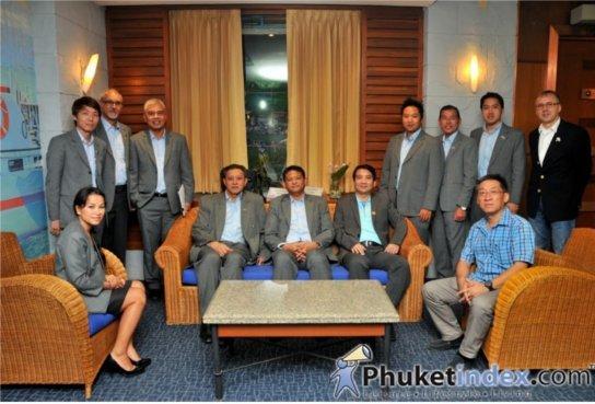 Phuket Real Estate Association meets new Governor