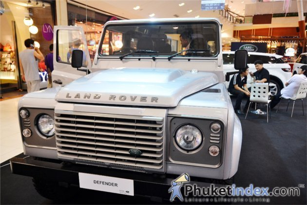 'Land Rover Discovers the South' at Central Festival Phuket