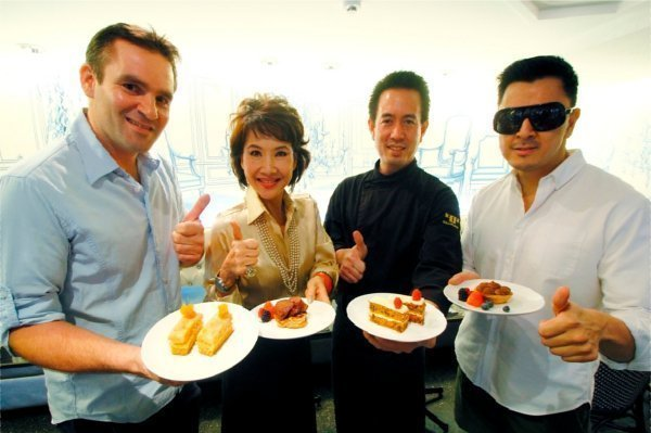 Bangkok Airways and 4garcons Special Onboard Desserts