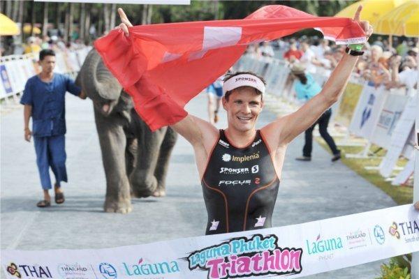 Phuket Triathlon title taken by Swiss Olympian