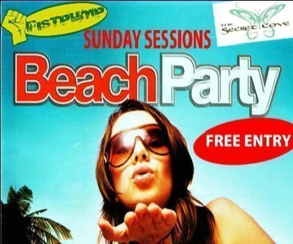 Phuket's first Sunday Sessions Beach Party