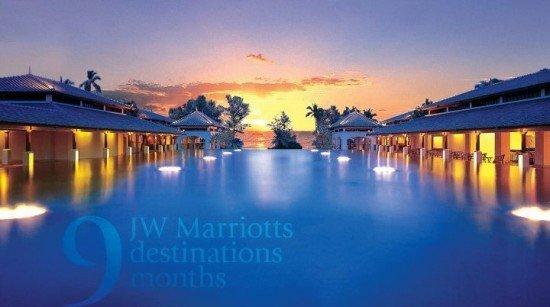 Phuket's JW Marriott's final monthly Facebook activity