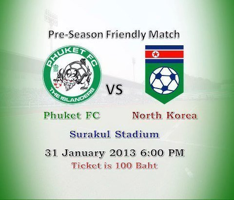 Urgent update Phuket FC friendly re-scheduled