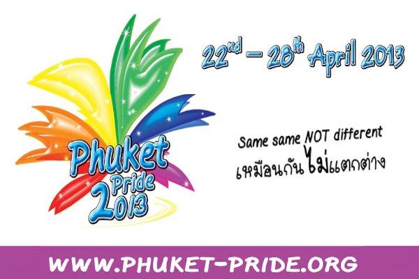 Phuket Pride 2013 is coming