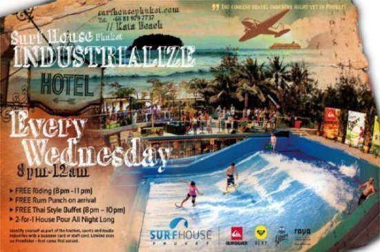 Surf House Phuket Industrialize Networking Event